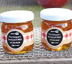 Personalized Honey Jar - BBQ (Set of 12)