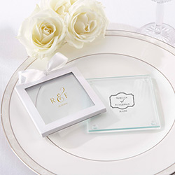 Personalized Glass Coaster – Classic (Set of 12)