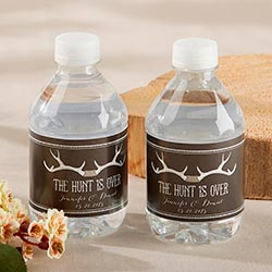 Personalized Water Bottle Labels  – The Hunt Is Over